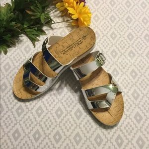 R.K. Designs Mirror Sandals